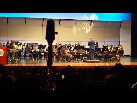 John B Alexander High School Symphonic band- The Dark Knight
