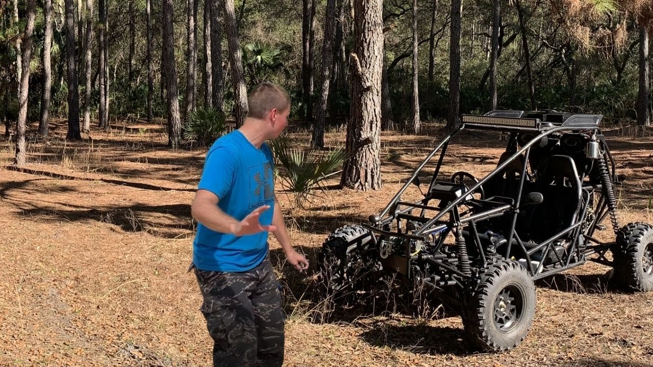 Chinese Dune Buggy Destroys Trail