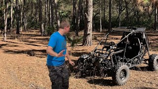 Chinese Dune Buggy Destroys Trail - Dune Buggy Top Speed Hits 70MPH!!
