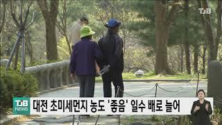 대전 초미세먼지 '좋은 날' 두배 늘어..코로나 영향도…