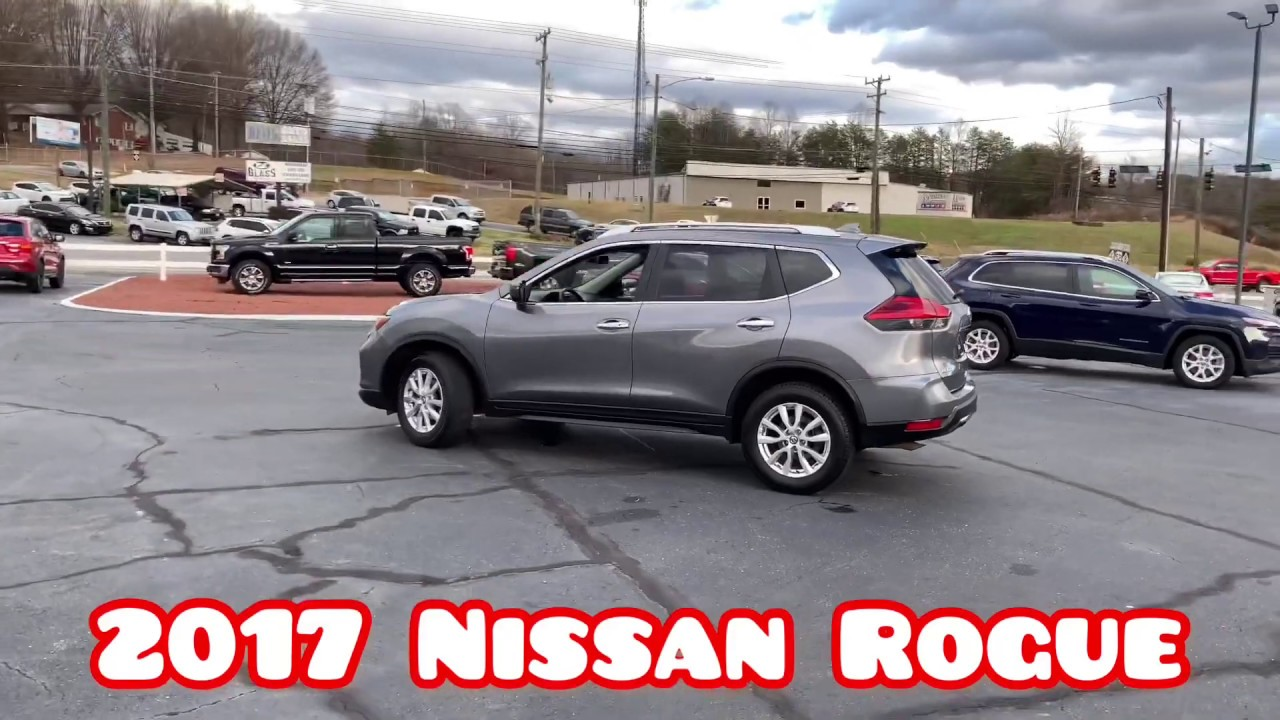 2017 Nissan Rogue AWD For Sale In Winston-Salem, NC 27105