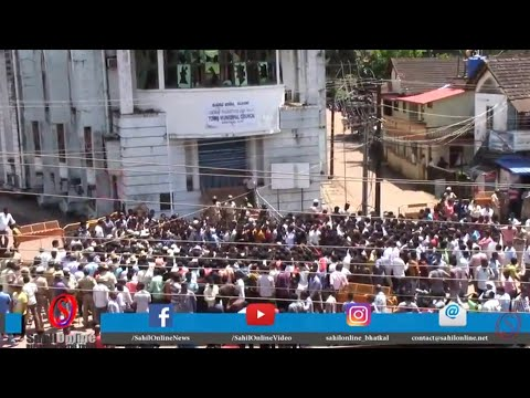 Special report - Bhatkal tense after stones pelt on TMC office - SahilOnline Bhatkal