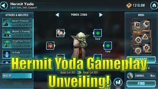 Star Wars Galaxy of Heroes: Hermit Yoda Gameplay Unveiling!