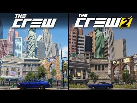 The Crew Vs The Crew 2 | Direct Comparison