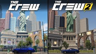 The Crew vs The Crew 2 | Direct Comparison
