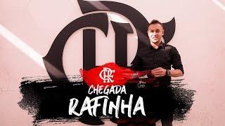 O primeiro dia de Rafinha no Flamengo