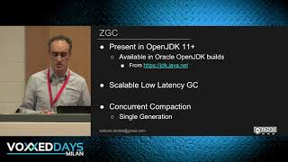 [VDM19] Concurrent Garbage Collectors: ZGC & Shenandoah by Simone Bordet