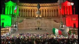 """Centocinquanta Anni Italia  """" l'Inno di Mameli """""""