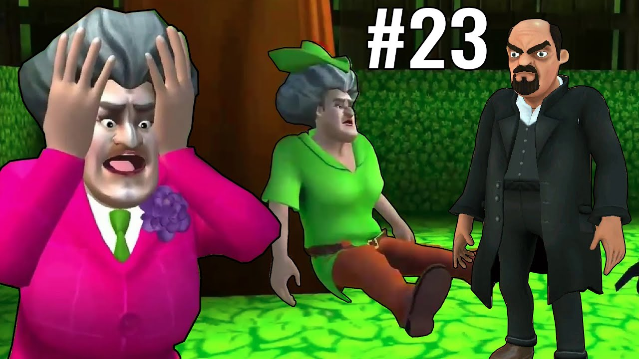 MISS T KI PITAI - Scary teacher 3d Part 23 | Funny Android Prank Game
