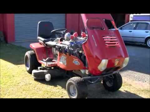 V8 Mower Youtube
