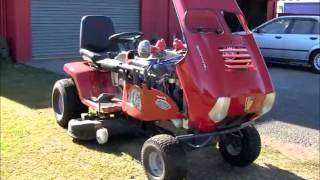 V8 mower