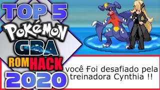 Top 5 Hack-Rom GBA! Com Galar, Digimon, Hoenn, Sinnoh & Kanto Mundo ABERTO 2020
