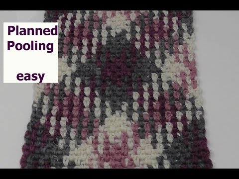 Planned / Color Pooling Einfach Häkeln mit Veronika Hug - YouTube