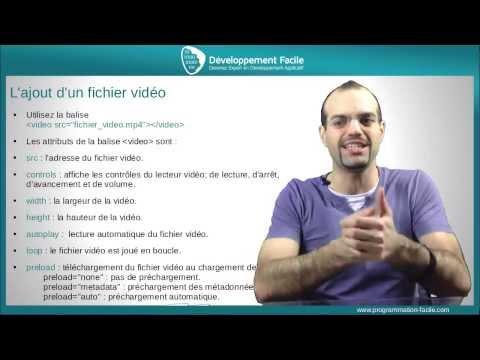Comment Ajouter Un Player Video HTML5 Compatible Google Chrome Firefox Safari Internet Explorer