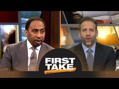 Stephen A. and Max react to Eagles beating Patriots in Super Bowl LII | First Take | ESPN