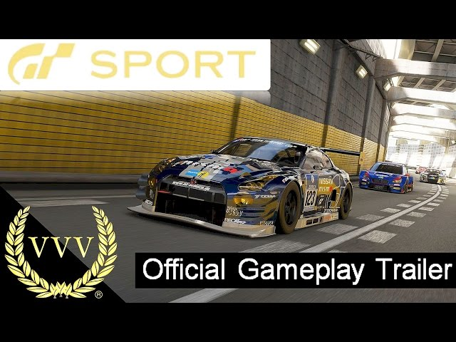 Gran Turismo Sport Official PS4 Gameplay Trailer