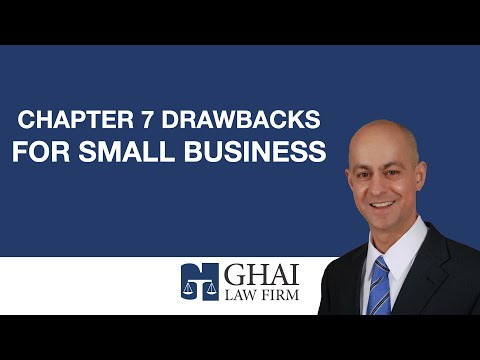 Chapter 7 Drawbacks for Small Business