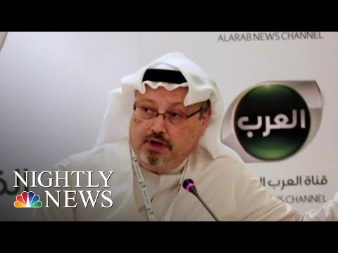 Turks Tell U.S. Officials They Have Recordings Of Khashoggi Killing, Report Says | NBC Nightly News