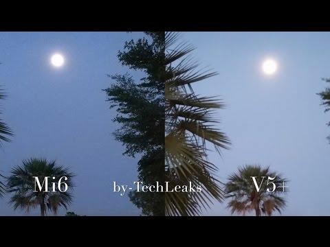 XIAOMI MI6 vs VIVO V5+ LOW LIGHT STEADY SHOTS TOUGH FIGHT