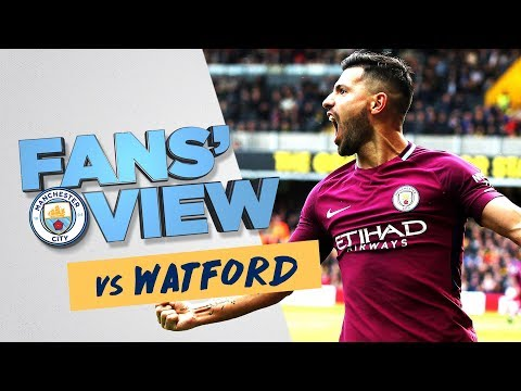 SIX IN THE CITY | Dynamic Highlights | Watford 0-6 Man City | Fans