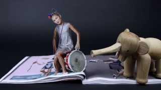 Bijenkorf Magazine Pop-up Stop Motion Animatie