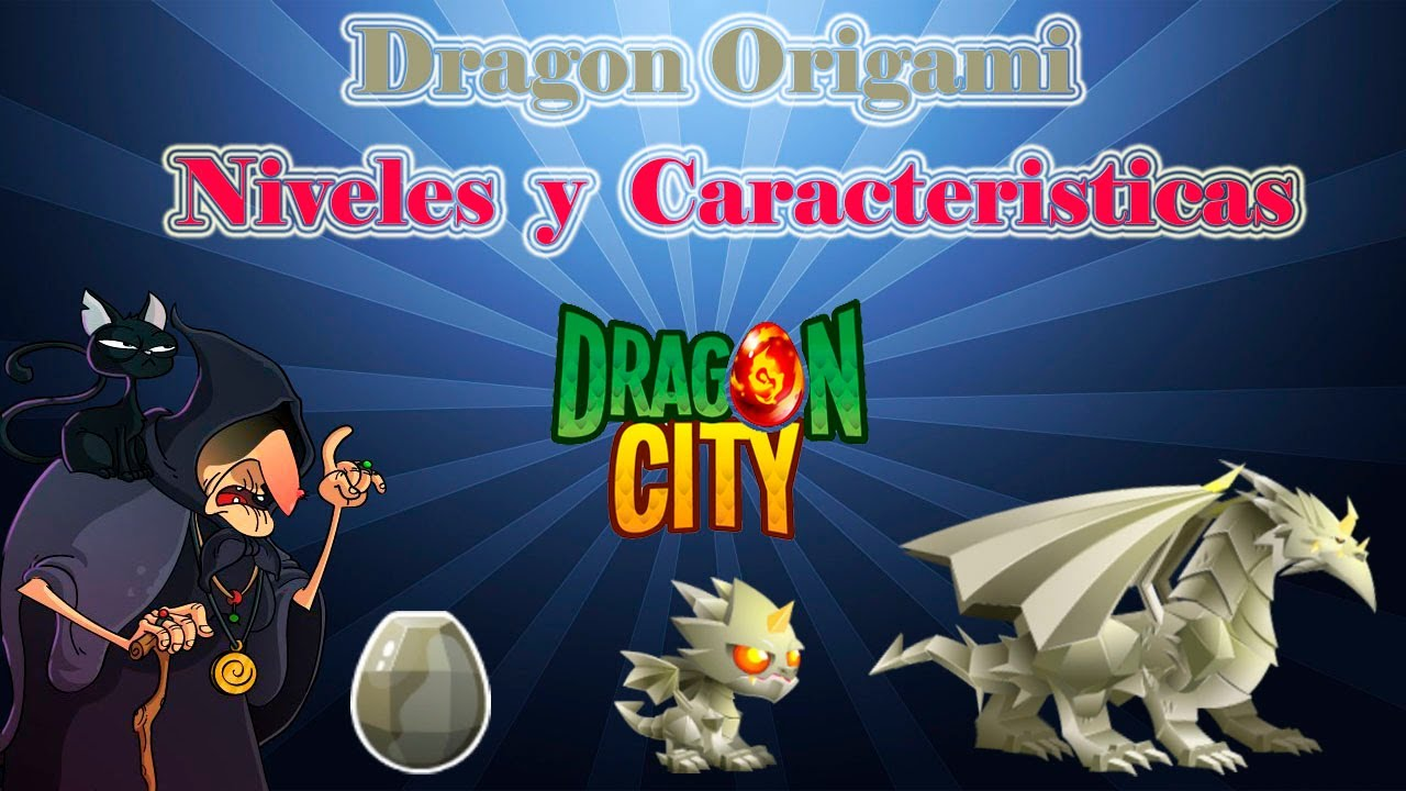 Dragon Origami De Dragon City Youtube