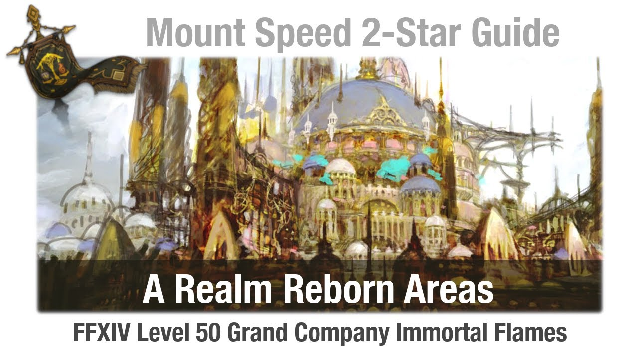 FFXIV Mount Speed 2-Star Guide - A Realm Reborn