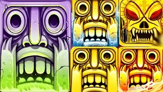 Temple Run 2 All Maps Gameplay w/ New Halloween Map Spooky Summit