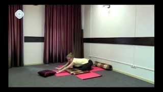 Видеоурок по йоге для беременных. Чупрова Елена
