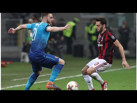 AC Milan hoping formation change can defeat Arsenal