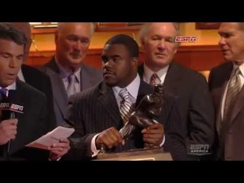 2009 Heisman Trophy Presentation - Mark Ingram (HQ)