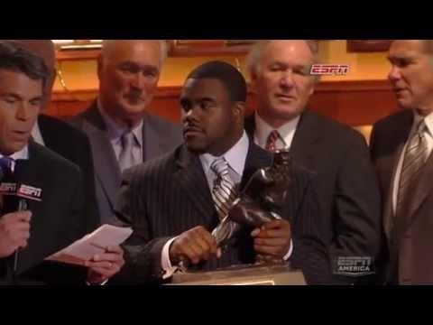2009 Heisman Trophy Presentation - Mark Ingram (HQ)