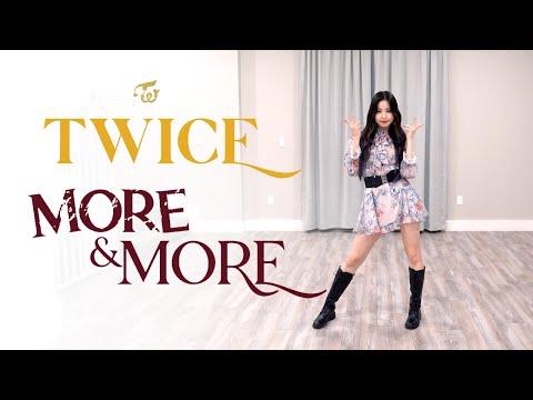 "TWICE – ""MORE & MORE"" Dance Cover | Ellen and Brian"