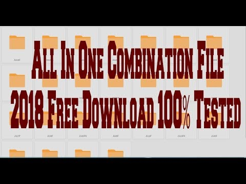 All In One Combination File 2018 Free Download 100% Tested by Online