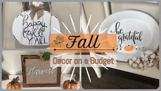 Fall Dollar Tree DIY | Get the Look for Less