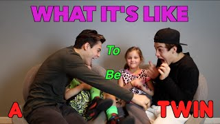 What It's Like To Be A Twin!! // Dolan Twins ft. Our Twin Cousins thumbnail