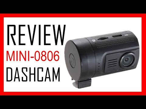 Mini 0806 Dashcam Review - Under $100 - Ambarella A7LA50 + OmniVision OV4689