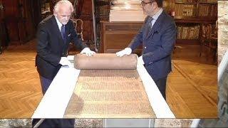 Ученые, возможно, нашли древнейшую рукопись торы