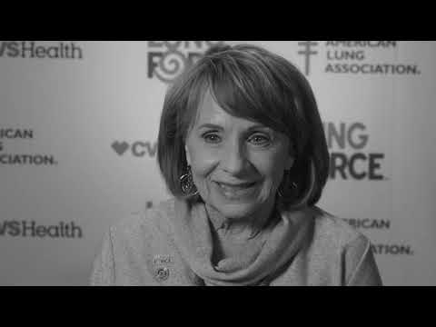 Pat Shares Her Voice for LUNG FORCE