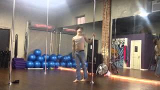 White Trash male pole dancer(Venom Lee)
