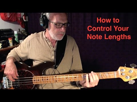 How to Control Your Note Lengths