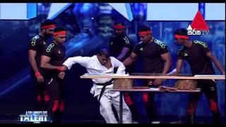 America's Got Talent alternative Audition Karate Act fail