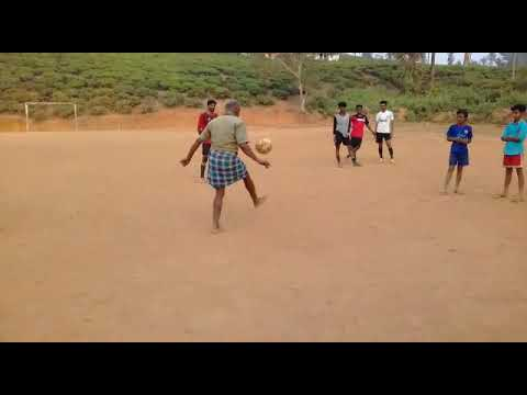 Football skills show by a 70year old man | Kerala