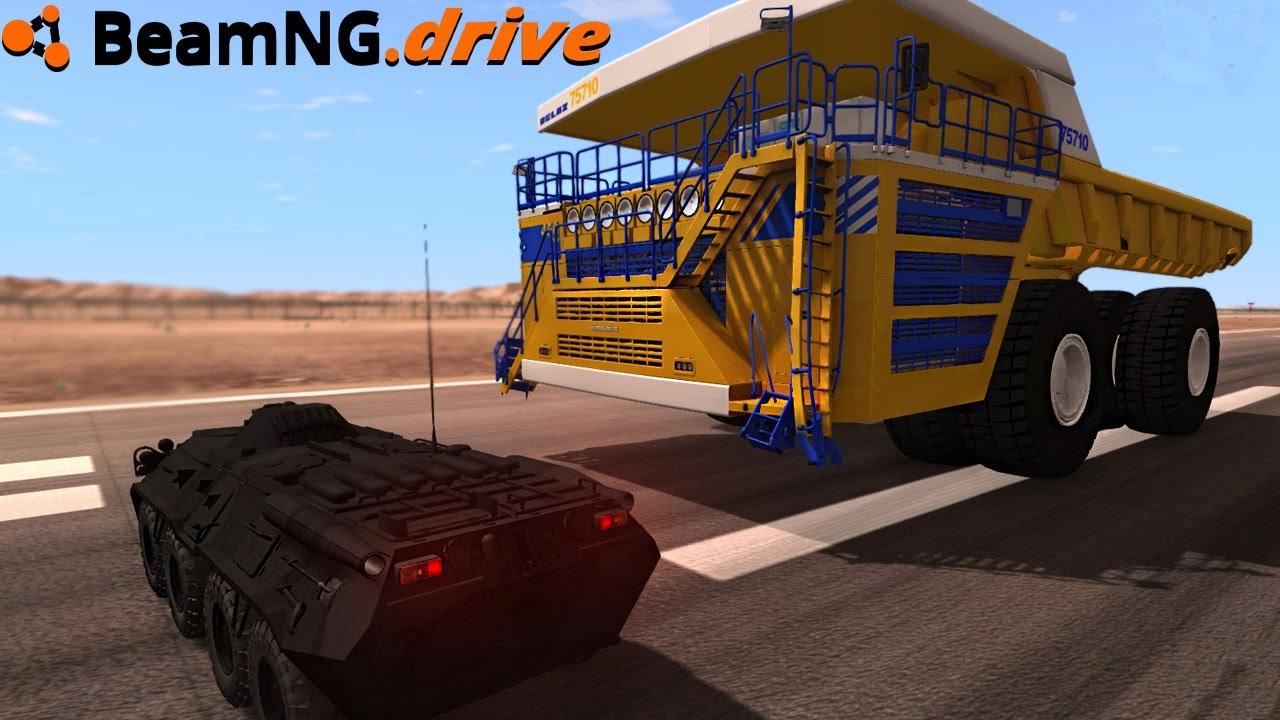 Beamng drive biggest vehicle