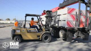"D&E Supply| Safety Training Video 1: ""Loading the Truck and Pup Trailer"""