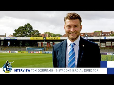INTERVIEW: New Commercial Director Tom Gorringe