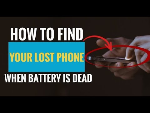 How To Find Your Lost Phone When Battery Is Dead