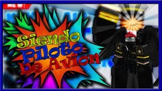 SIENDO PILOTO DE AVION EN ROBLOX/ Keyon Air Flight Simulator V5