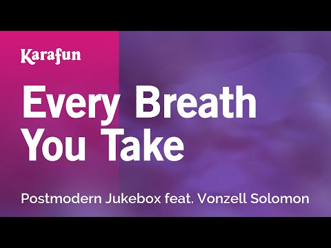 Postmodern Jukebox - Every Breath You Take Karaoke Lyrics