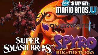 Massive News: Diablo in Smash Ultimate  New Super Mario Bros Switch Spyro Delayed & Overwatch Switch